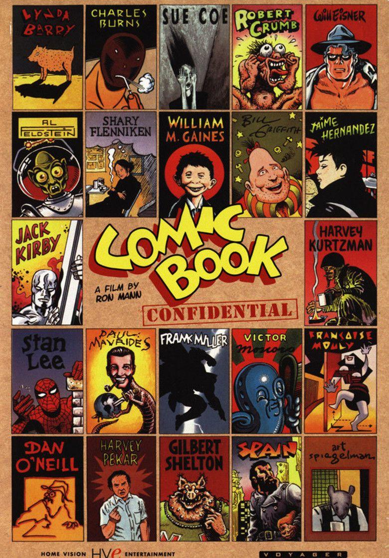 Comic Book Villains movie poster