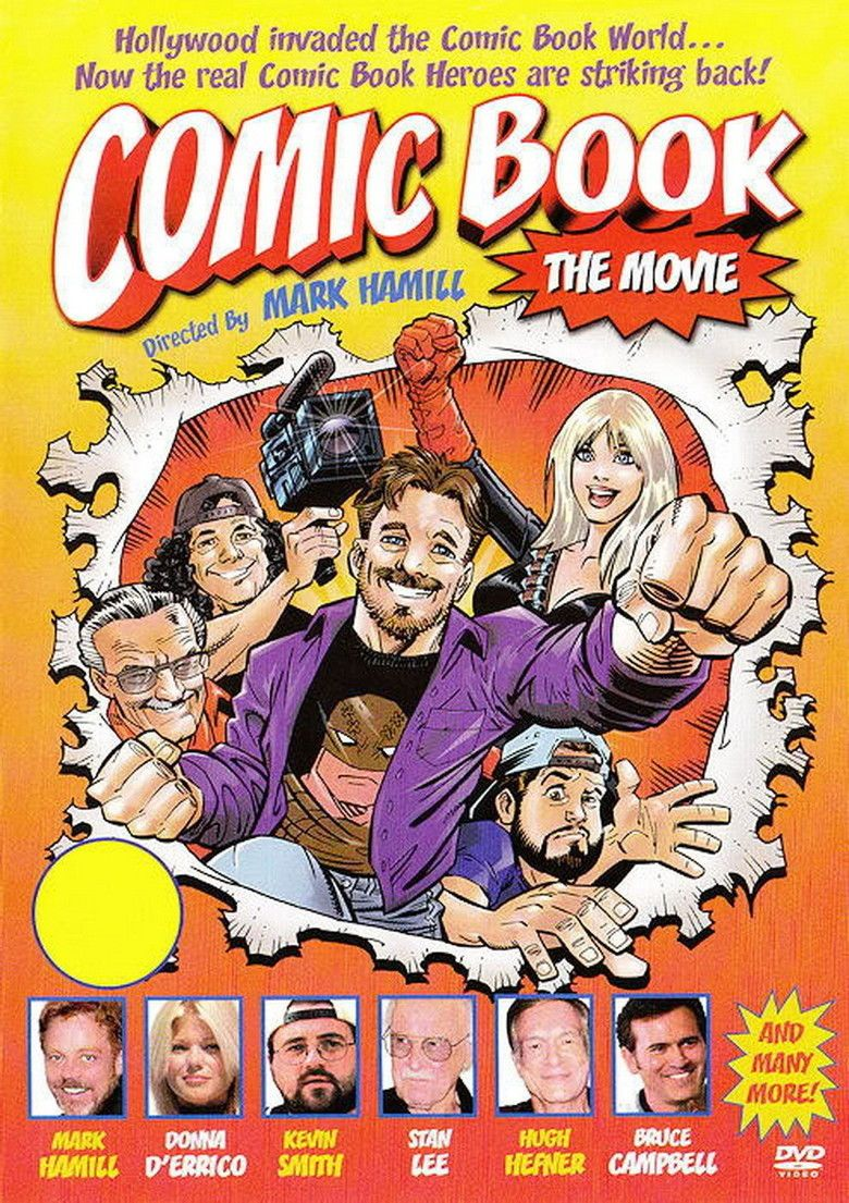 Comic Book: The Movie movie poster