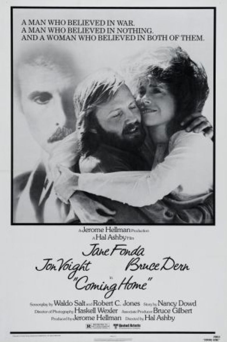 Coming Home (1978 film) movie poster