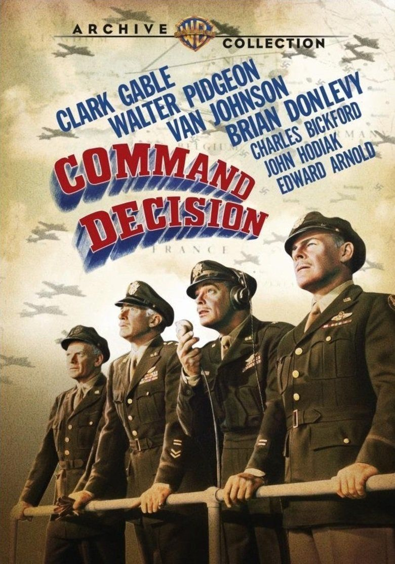 Command Decision (film) movie poster