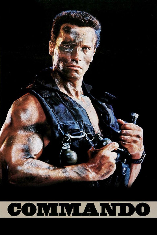 Commando (1985 film) movie poster