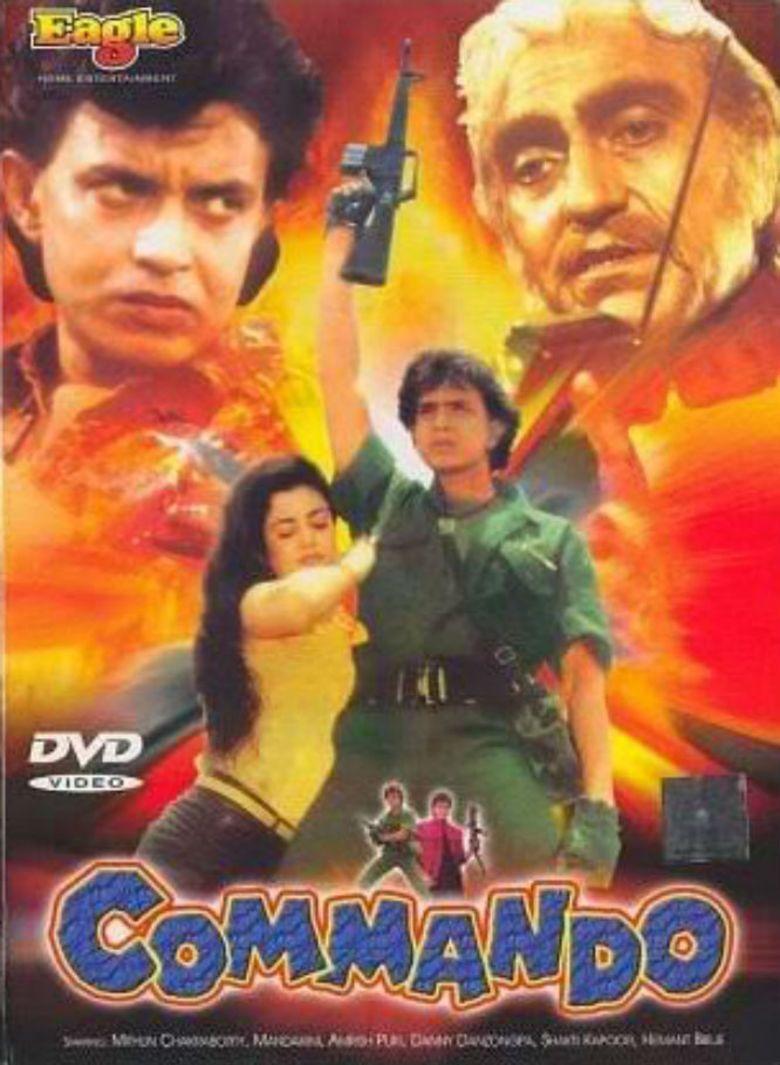 Commando (1988 film) movie poster