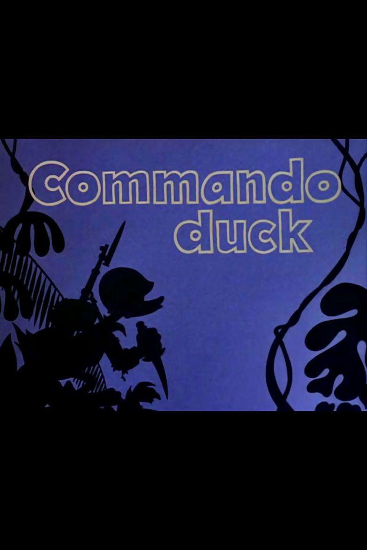 Commando Duck movie poster
