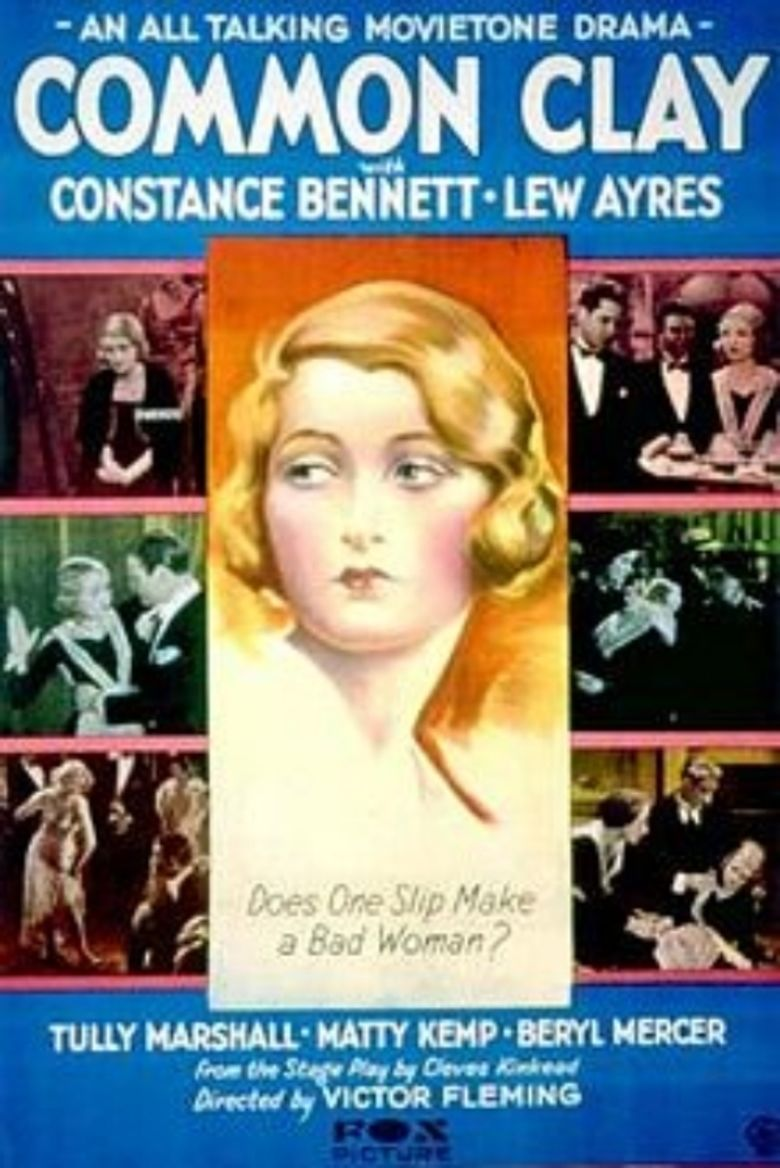 Common Clay (1930 film) movie poster
