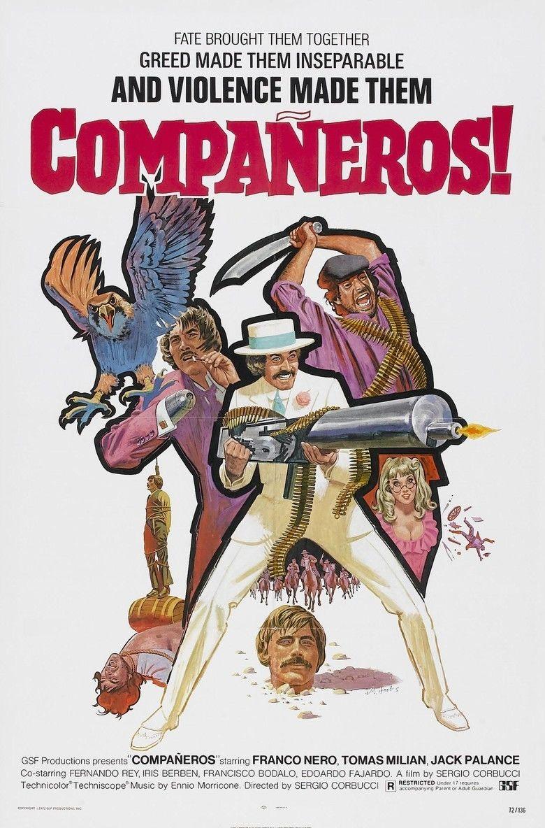 Companeros movie poster