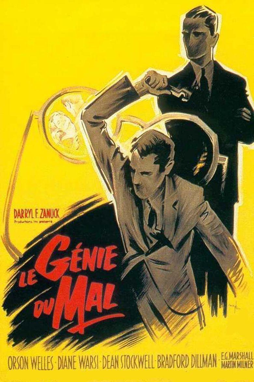 Compulsion (1959 film) movie poster
