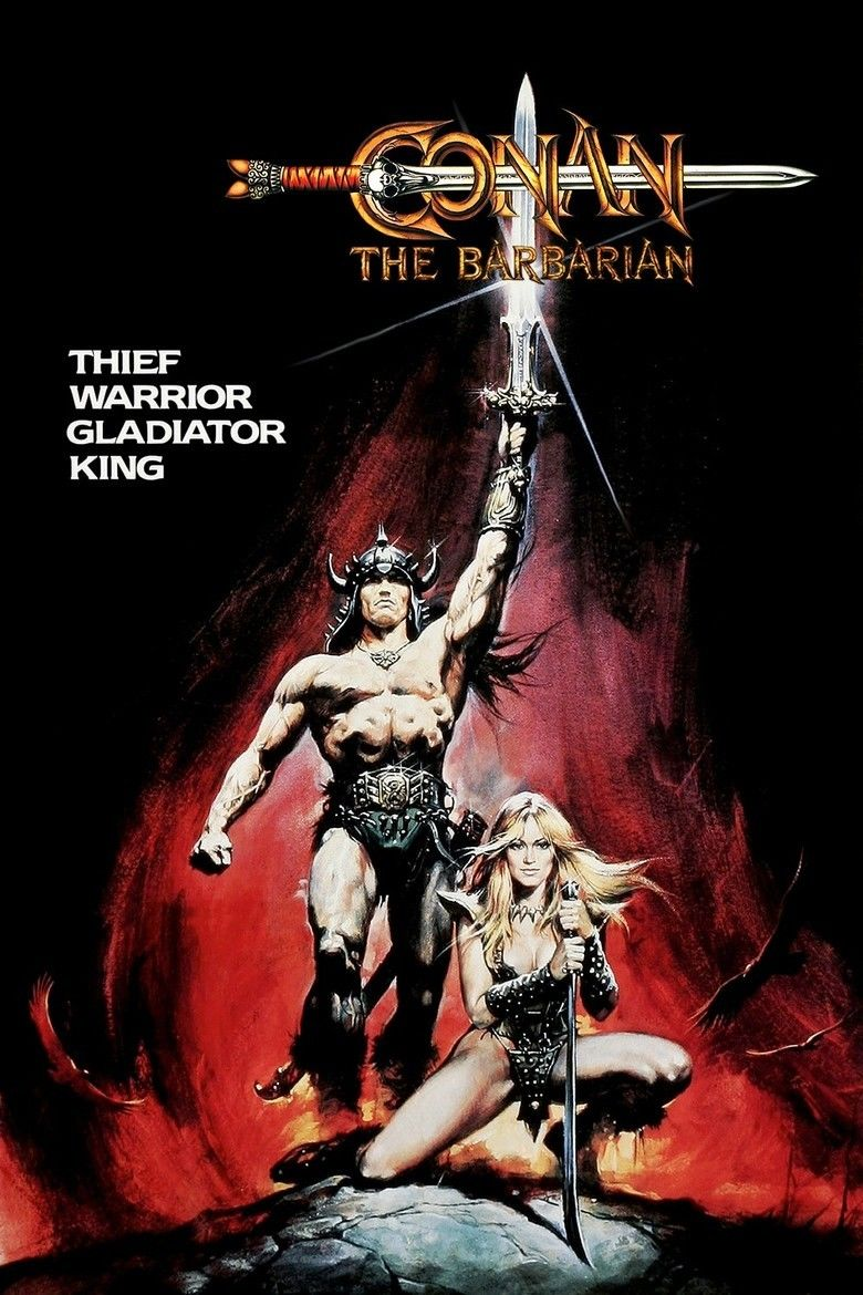 Conan the Barbarian (1982 film) movie poster
