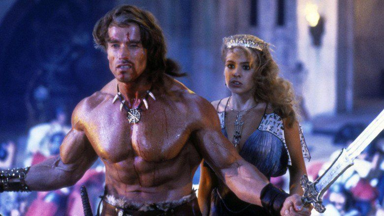 Conan the Destroyer movie scenes