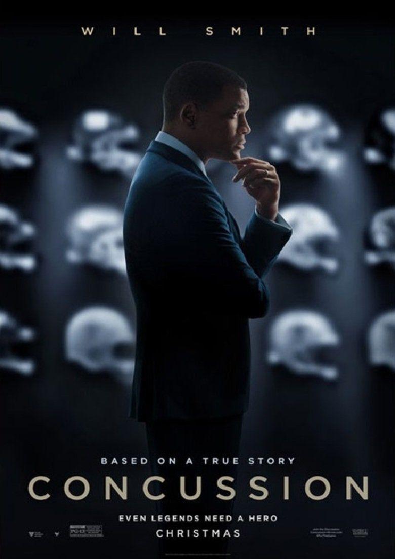 Concussion (2015 film) movie poster