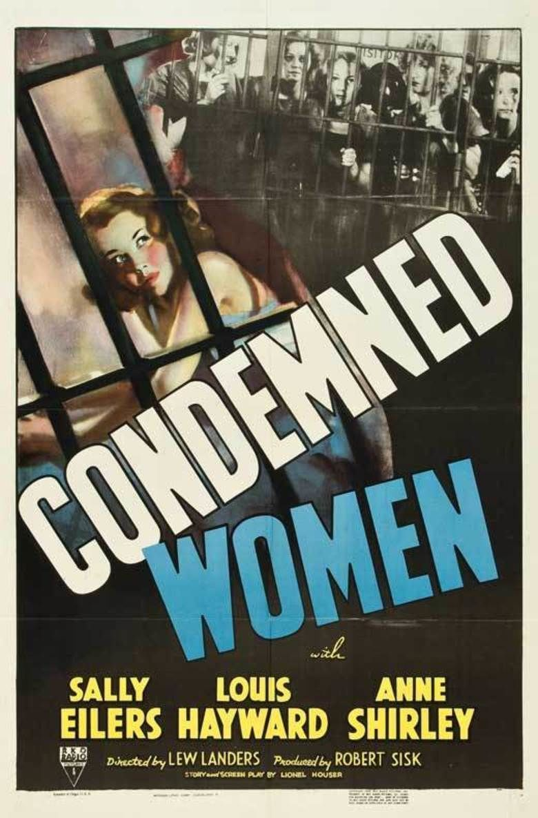 Condemned Women movie poster
