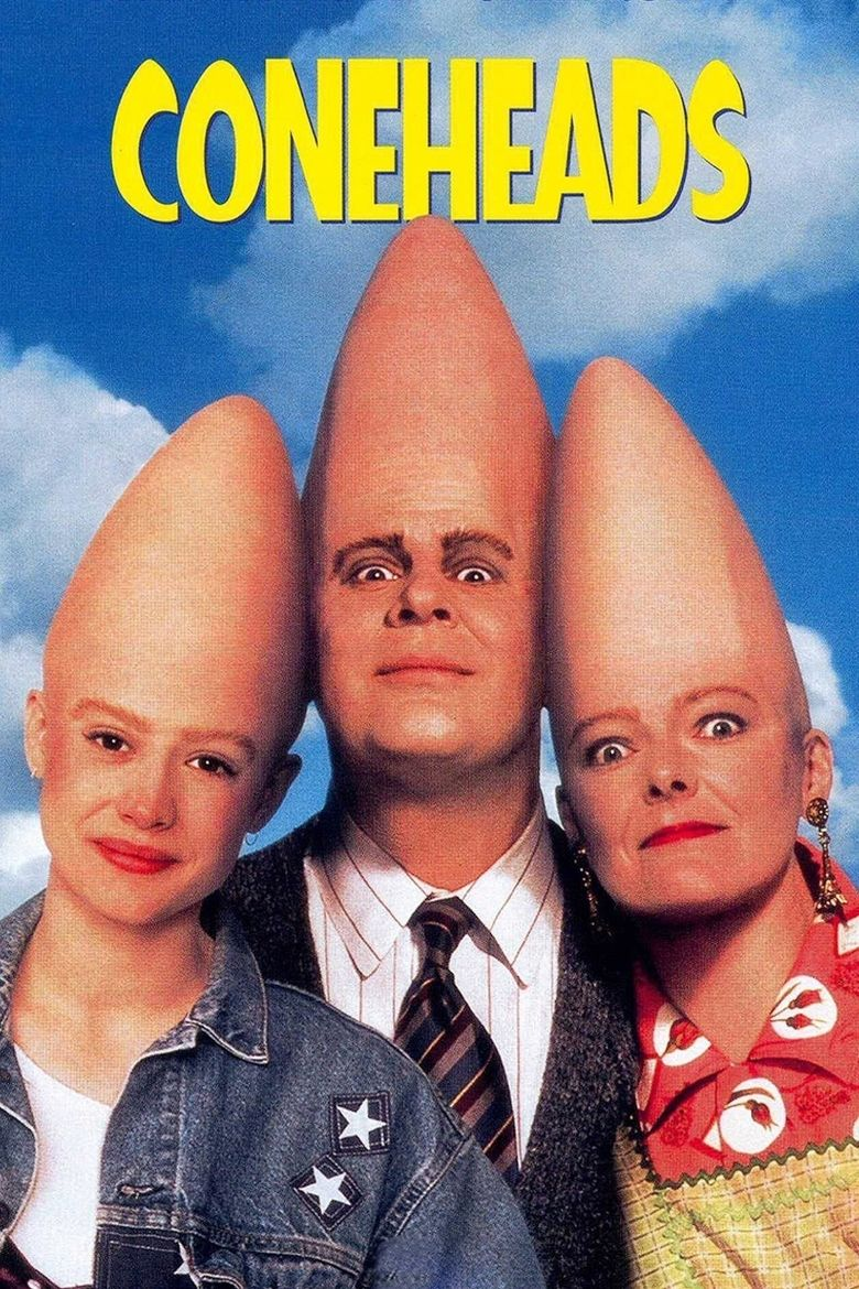 Coneheads (film) movie poster