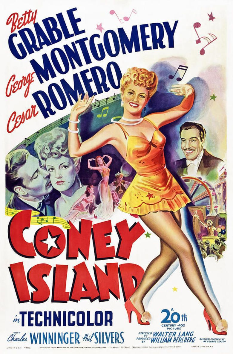 Coney Island (1943 film) movie poster