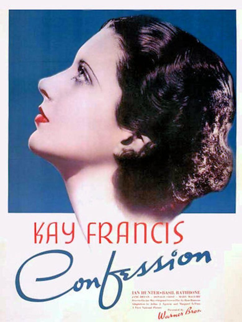 Confession (1937 film) movie poster