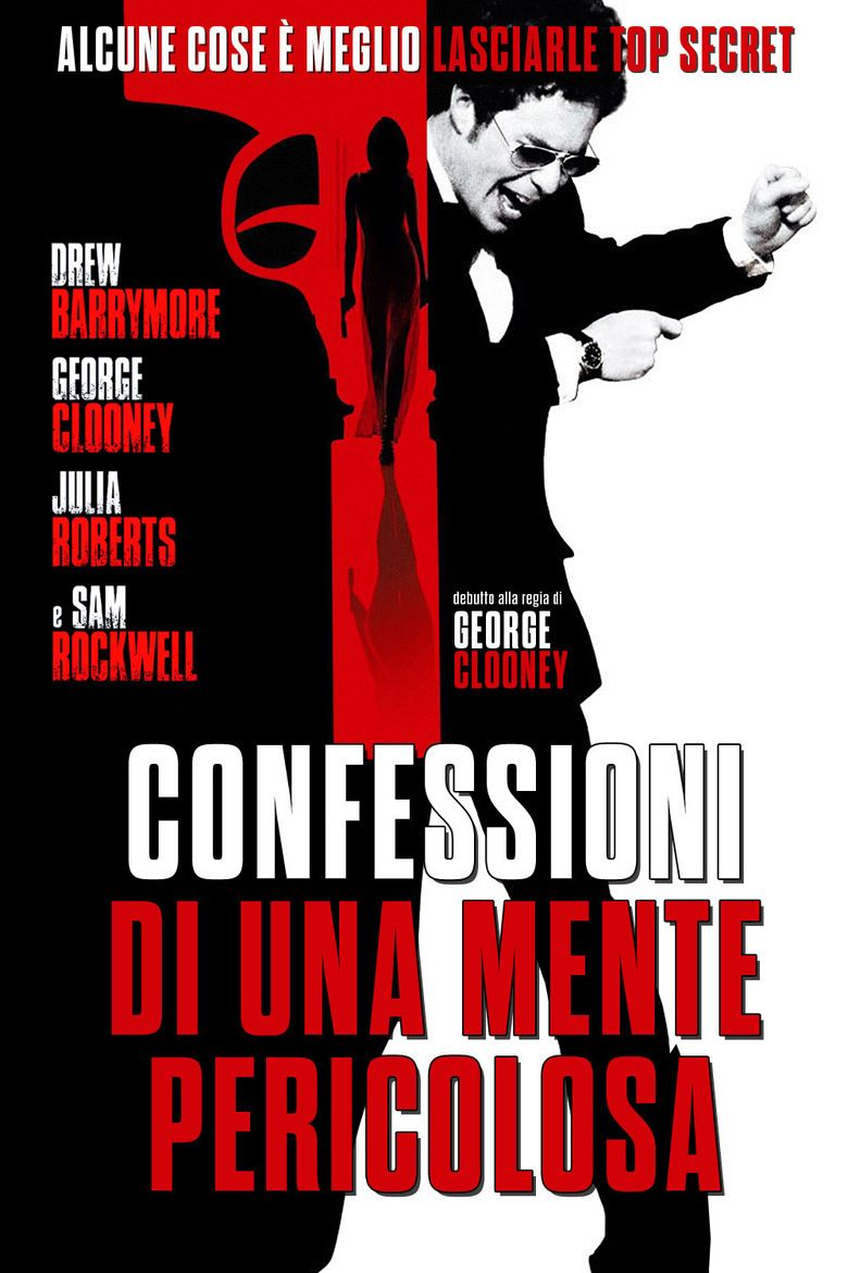 Confessions of a Dangerous Mind movie poster