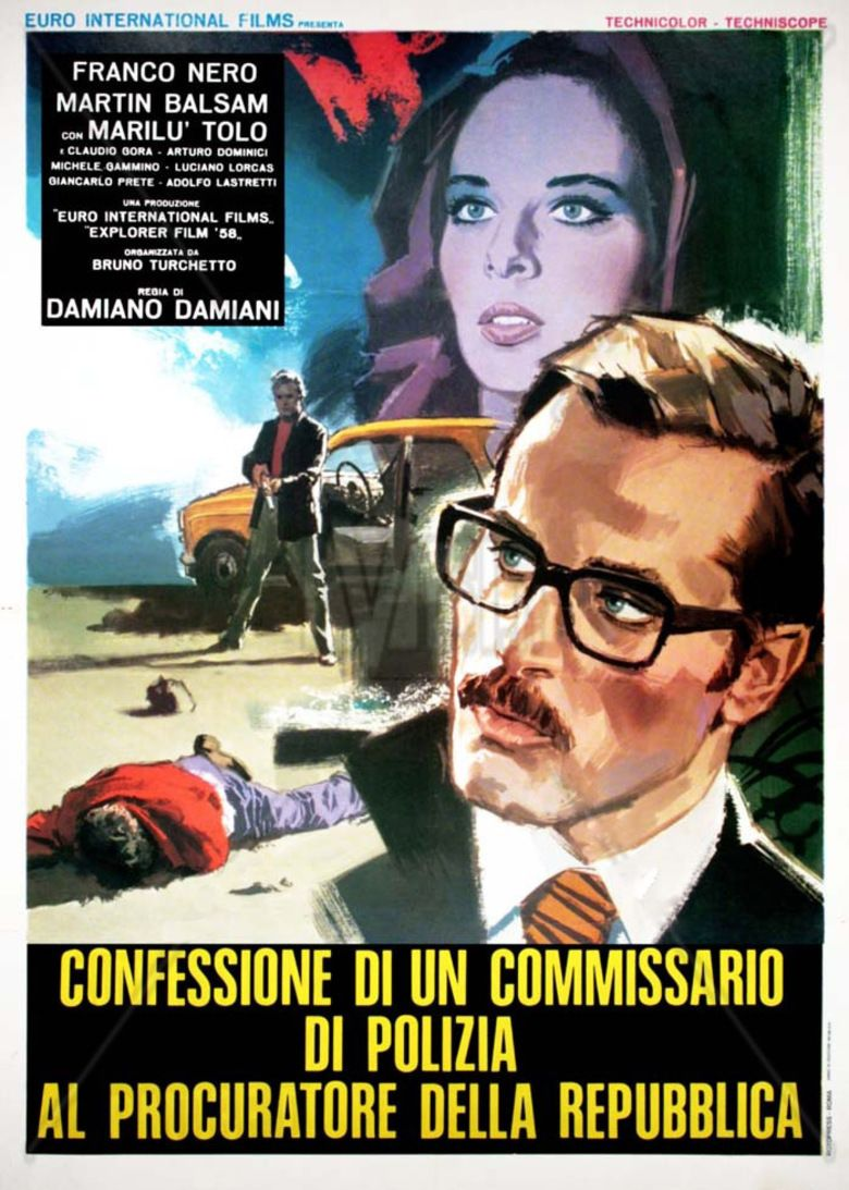Confessions of a Police Captain movie poster