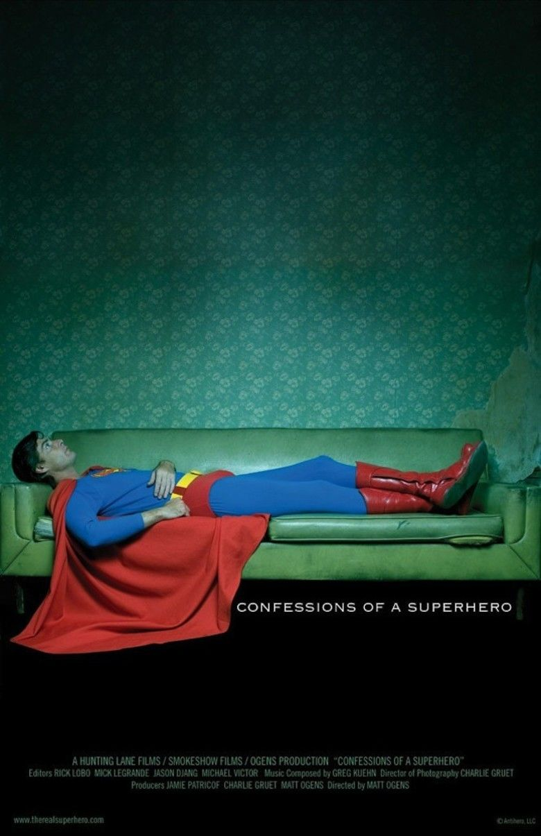 Confessions of a Superhero movie poster