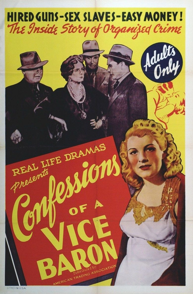 Confessions of a Vice Baron movie poster