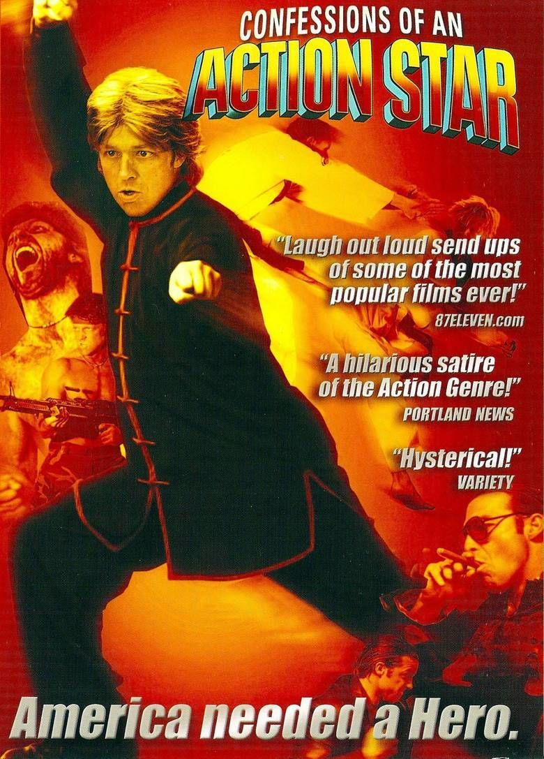 Confessions of an Action Star movie poster