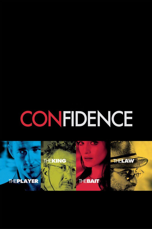 Confidence (2003 film) movie poster