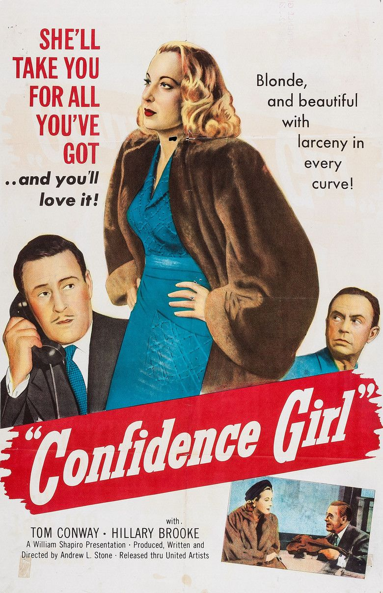 Confidence Girl movie poster