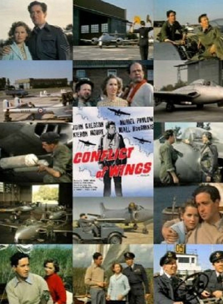 Conflict of Wings movie poster