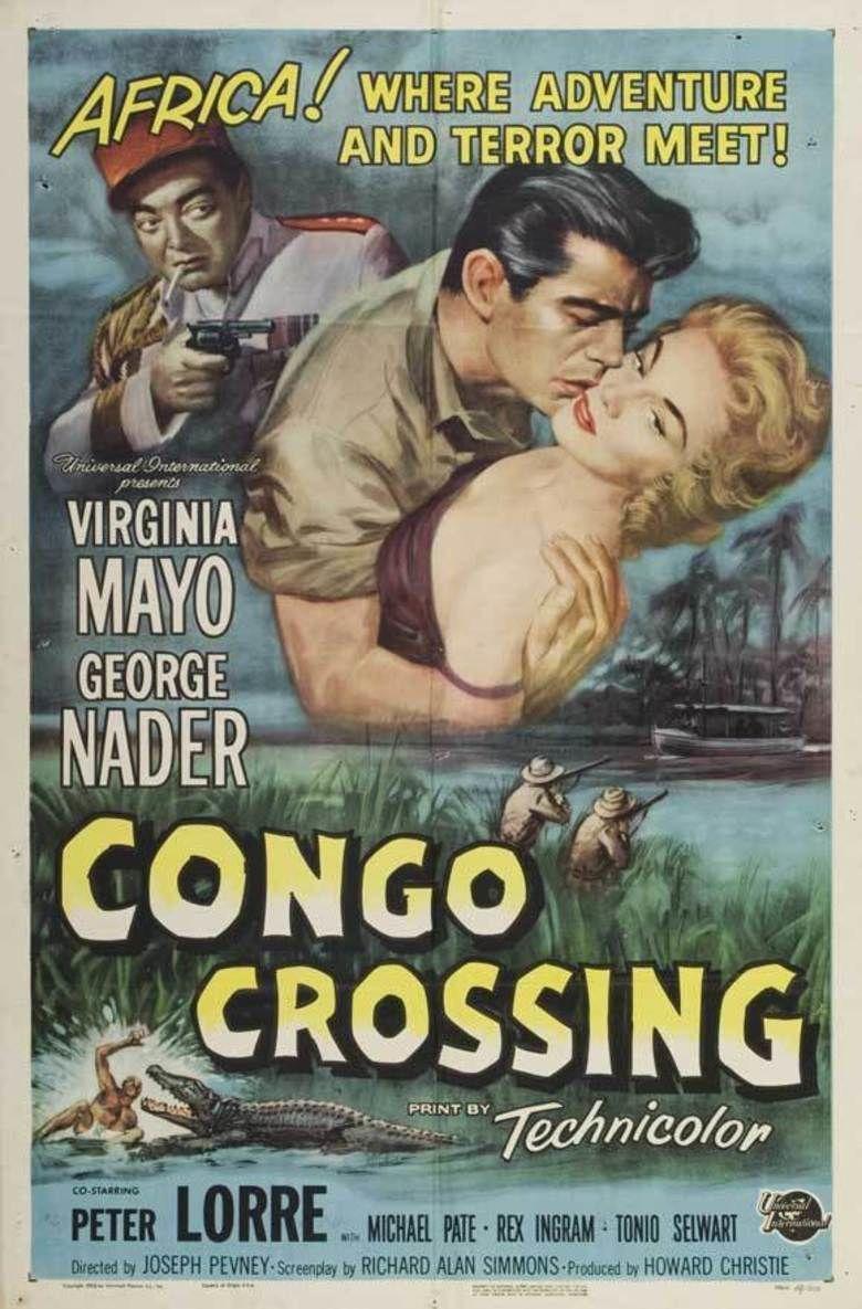 Congo Crossing movie poster