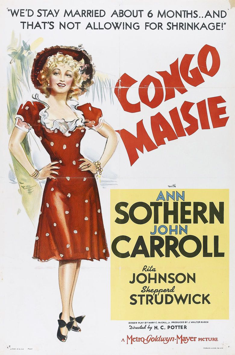 Congo Maisie movie poster