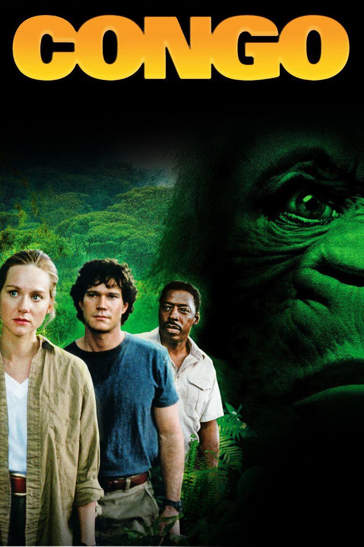 Congo (film) movie poster