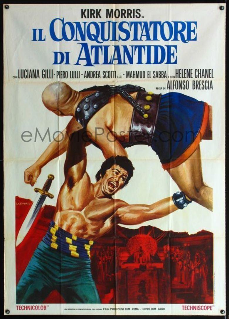 Conqueror of Atlantis movie poster