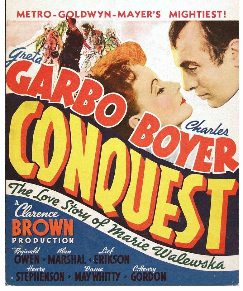 Conquest (1937 film) movie poster