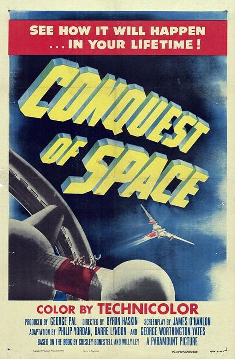 Conquest of Space movie poster