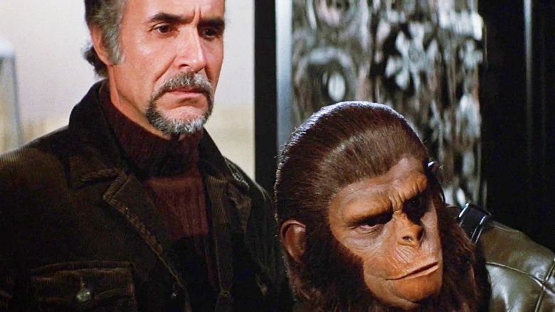 Conquest of the Planet of the Apes movie scenes