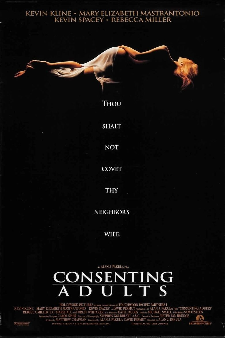 Consenting Adults (1992 film) movie poster