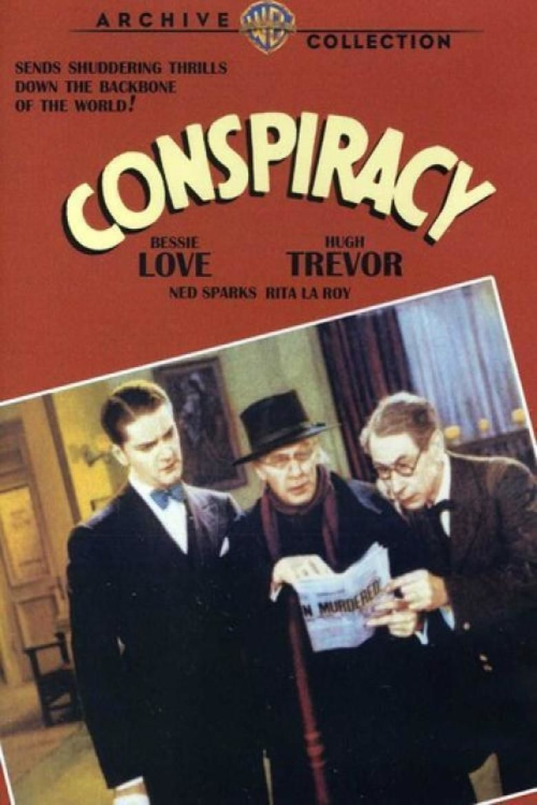 Conspiracy (1930 film) movie poster