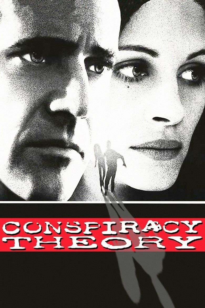 Conspiracy Theory (film) movie poster