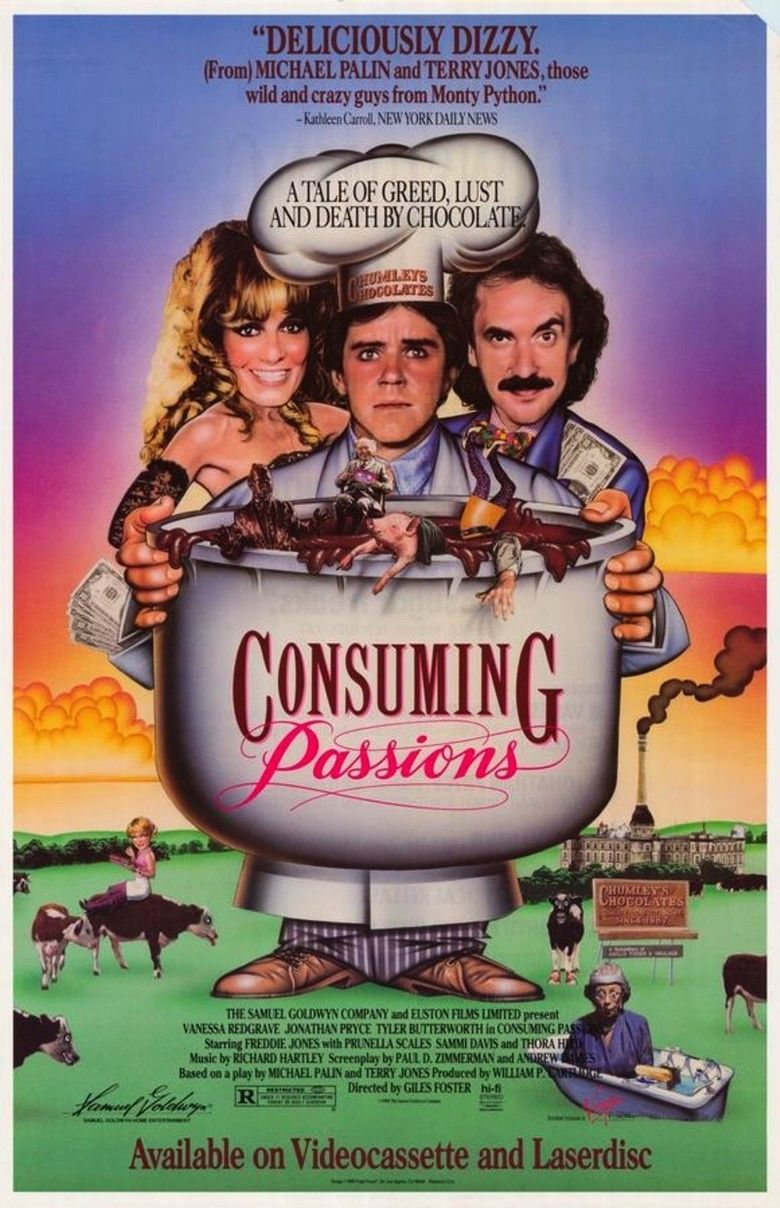 Consuming Passions movie poster