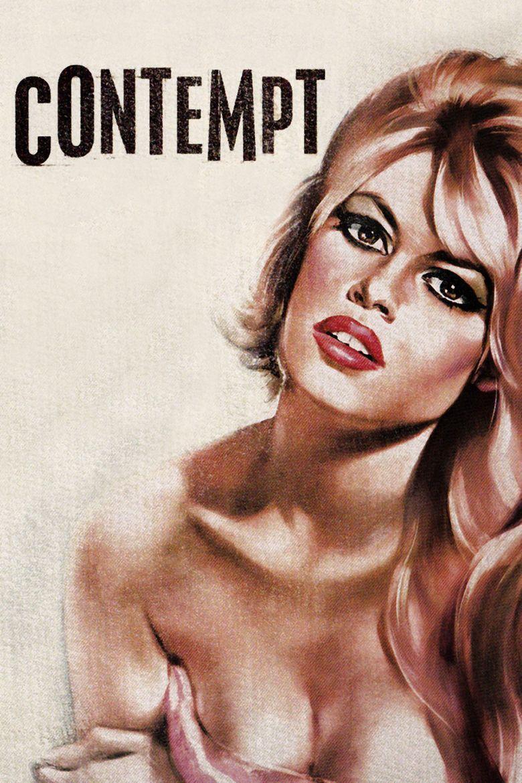Contempt (film) movie poster