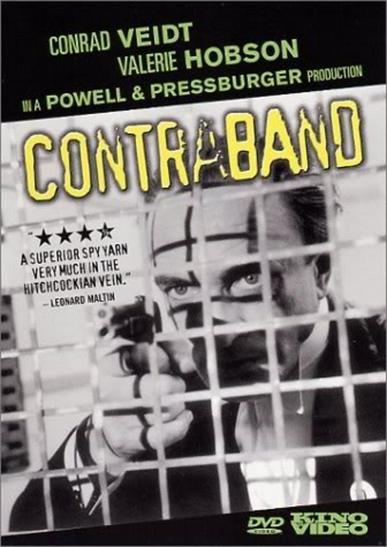 Contraband (1940 film) movie poster