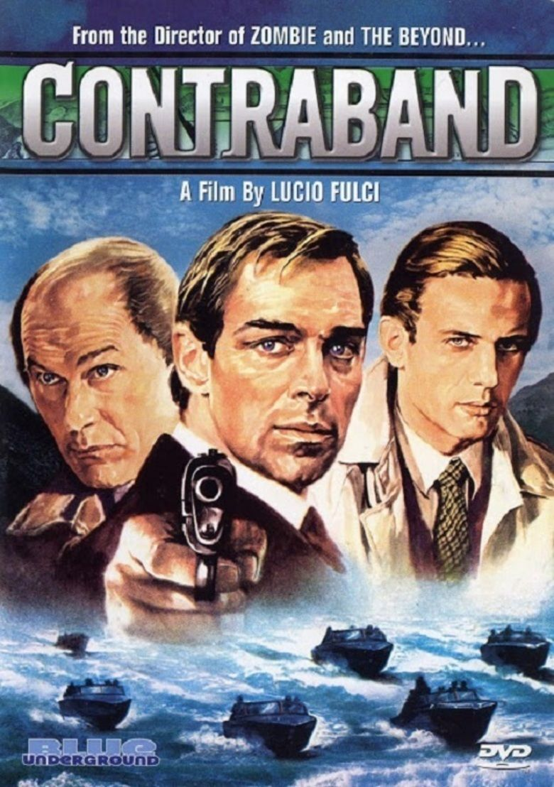 Contraband (1980 film) movie poster