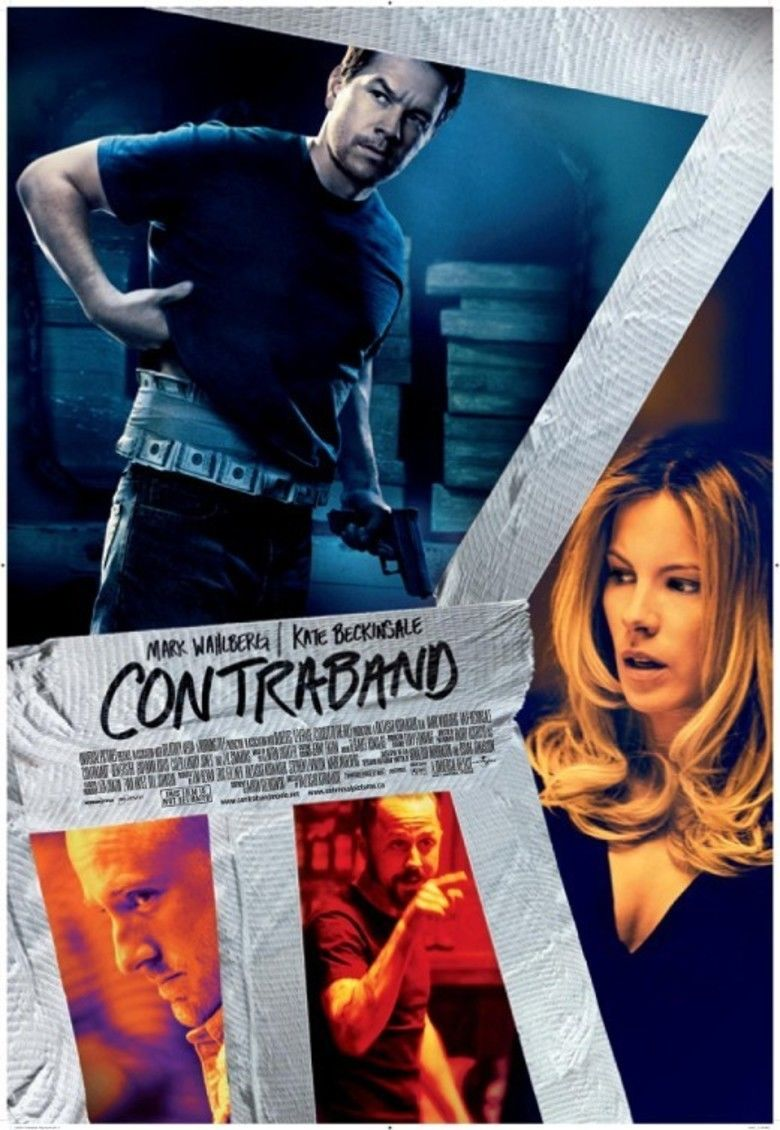 Contraband (2012 film) movie poster