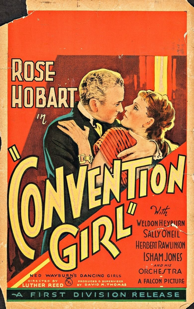 Convention Girl movie poster