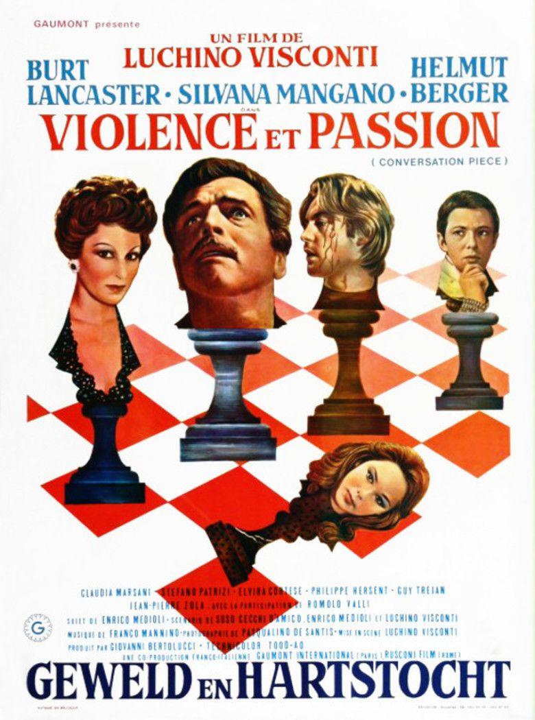 Conversation Piece (film) movie poster