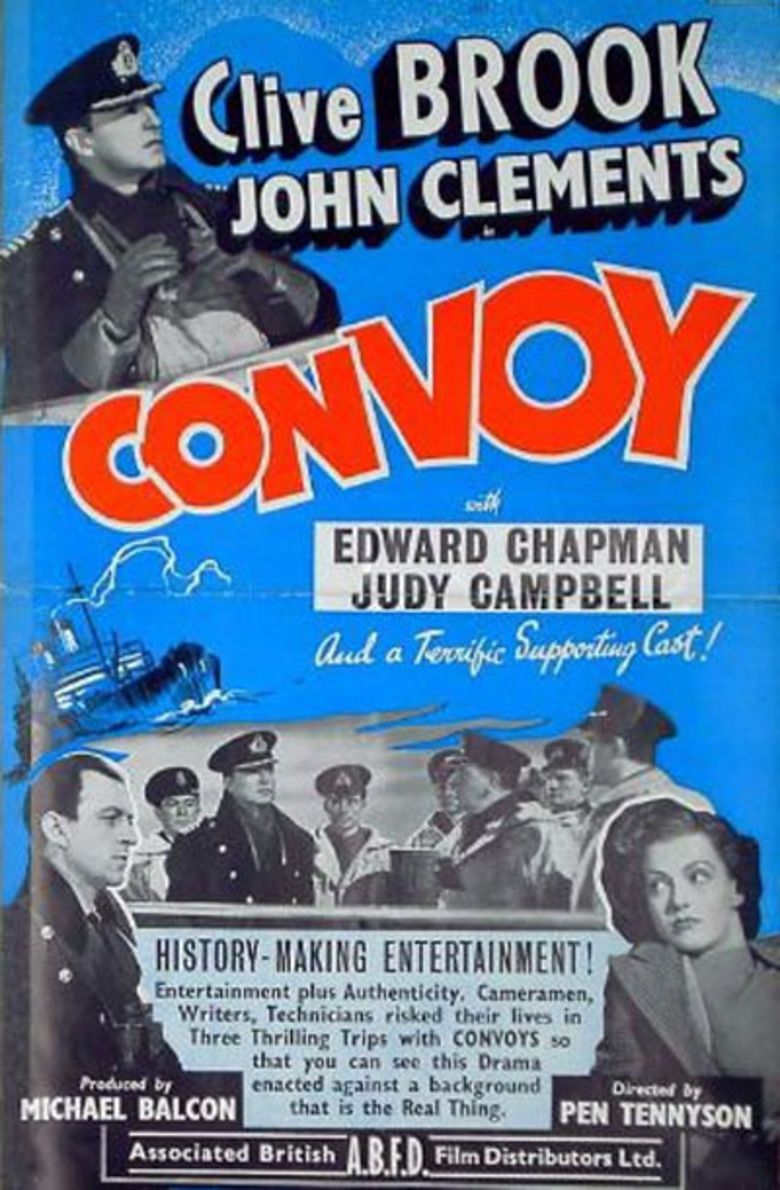Convoy (1940 film) movie poster