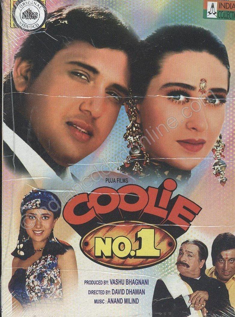 Coolie No 1 (1995 film) movie poster