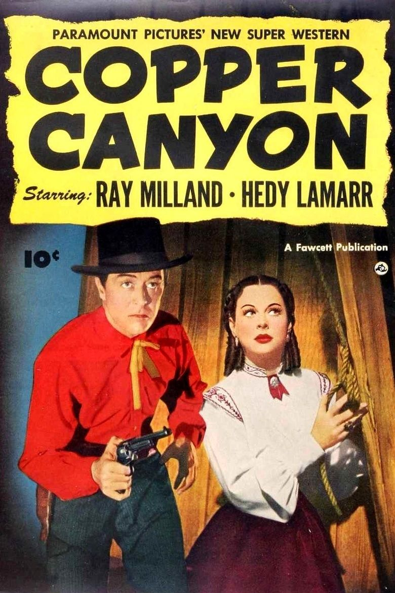 Copper Canyon (film) movie poster