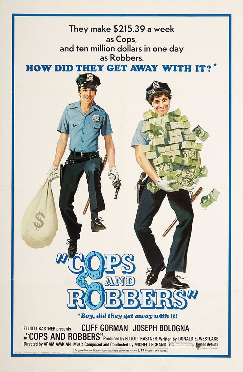 Cops and Robbers (1973 film) movie poster