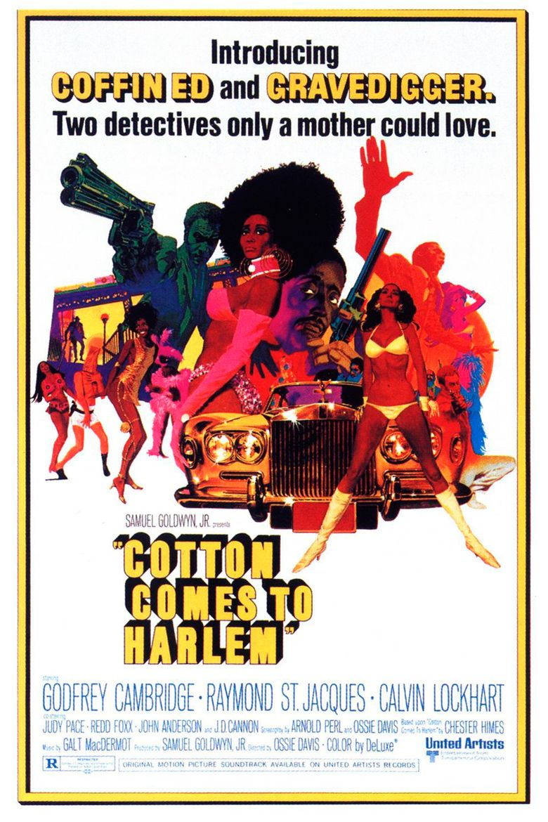 Cotton Comes to Harlem movie poster