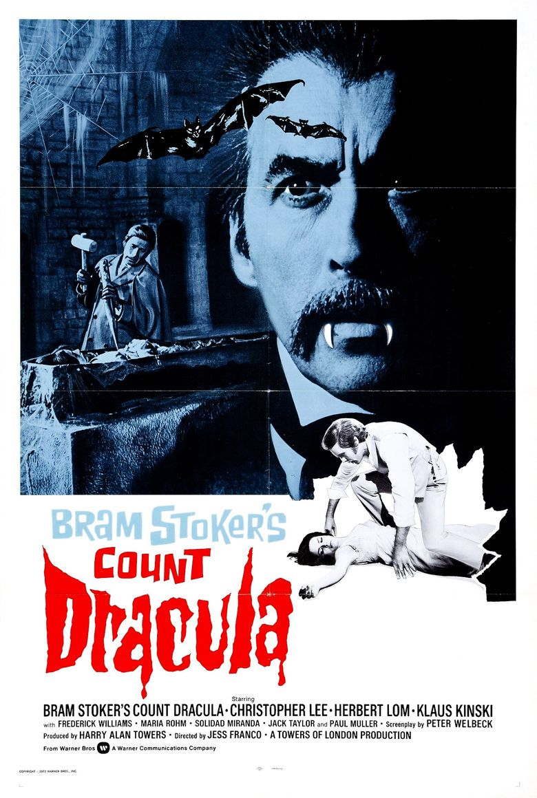 count dracula film the social encyclopedia count dracula 1970 film movie poster