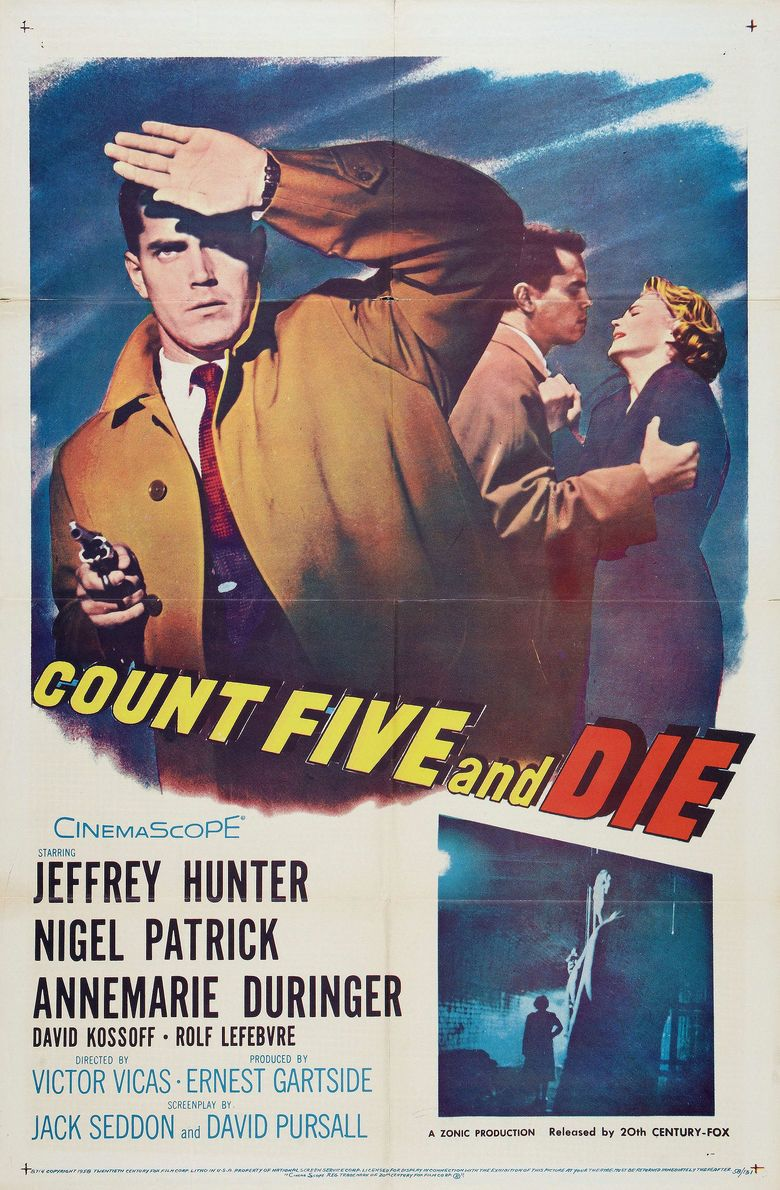 Count Five and Die movie poster