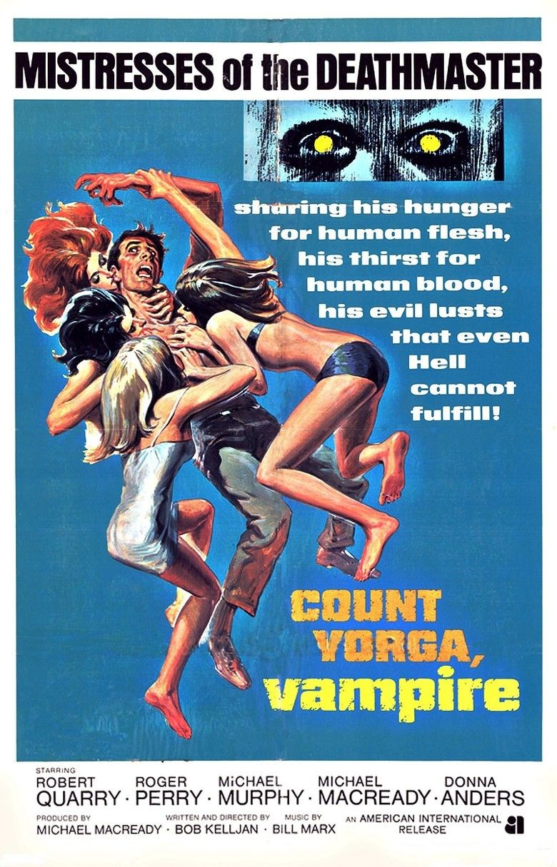 Count Yorga, Vampire movie poster